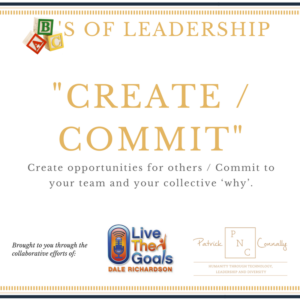 ABC's of Leadership (Create / Commit)
