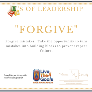 ABC's of Leadership (Forgive)