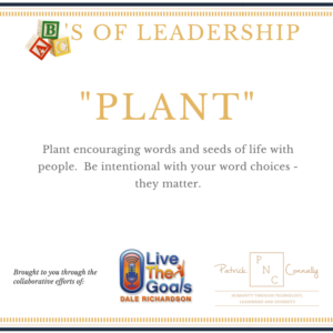 ABC's of Leadership (Plant)