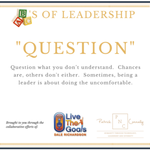 ABC's of Leadership (Question)