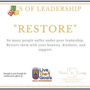 ABC's of Leadership (Restore)