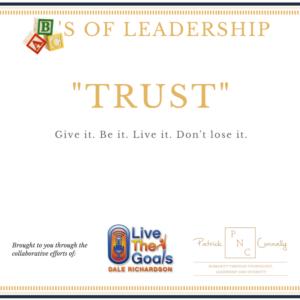 ABC's of Leadership (Trust)