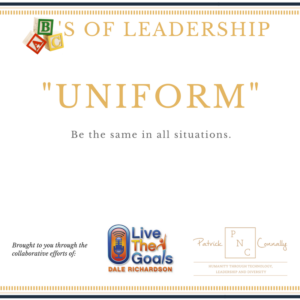 ABC's of Leadership (Uniform)