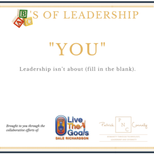 ABC's of Leadership (You)