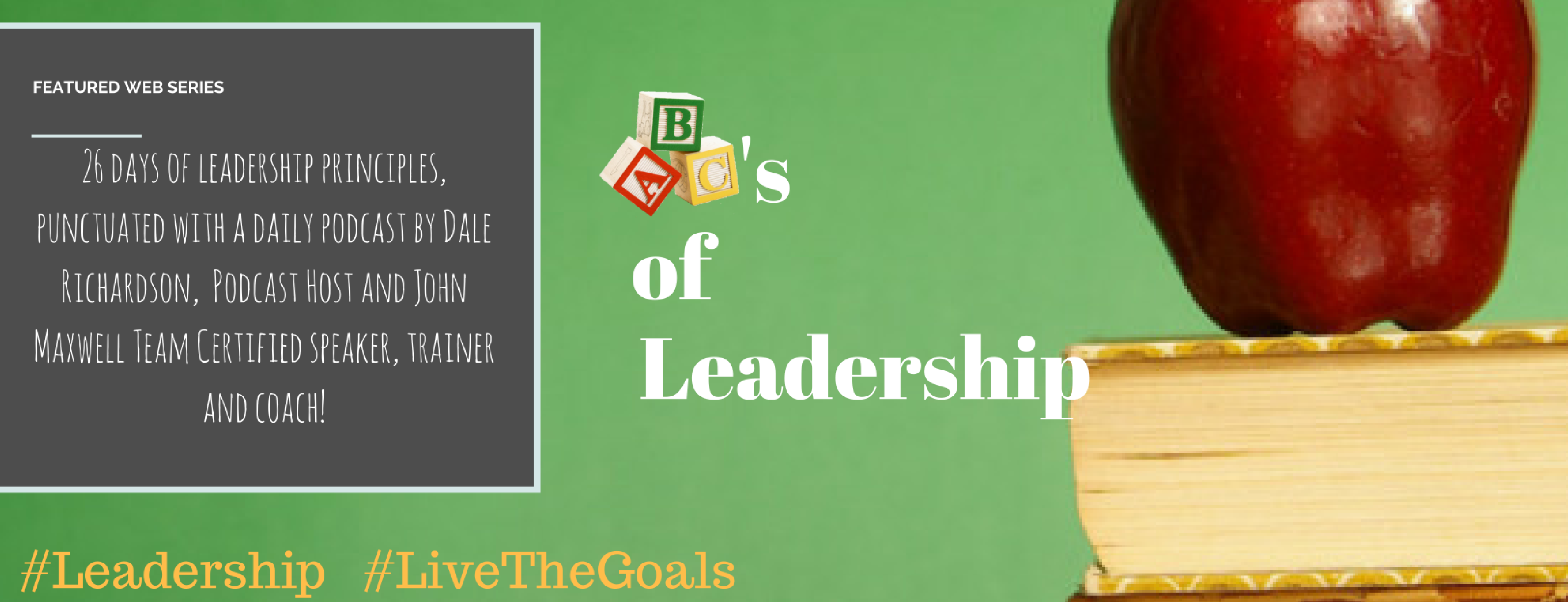 ABC's of Leadership (Header) Green