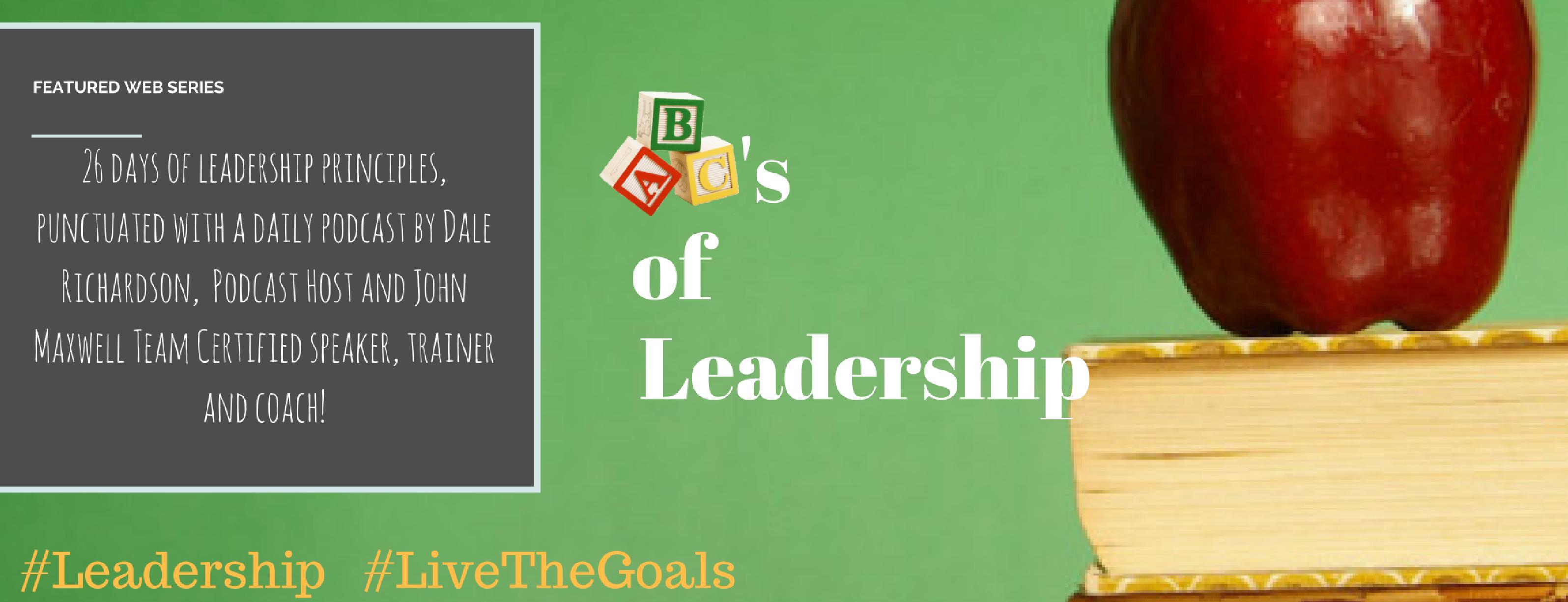 ABC's of Leadership (Header) Green