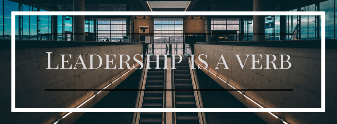 Discovering Leadership is a Verb