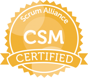 Scrum Alliance Certified Scrum Master Certificant ID: 000287525
